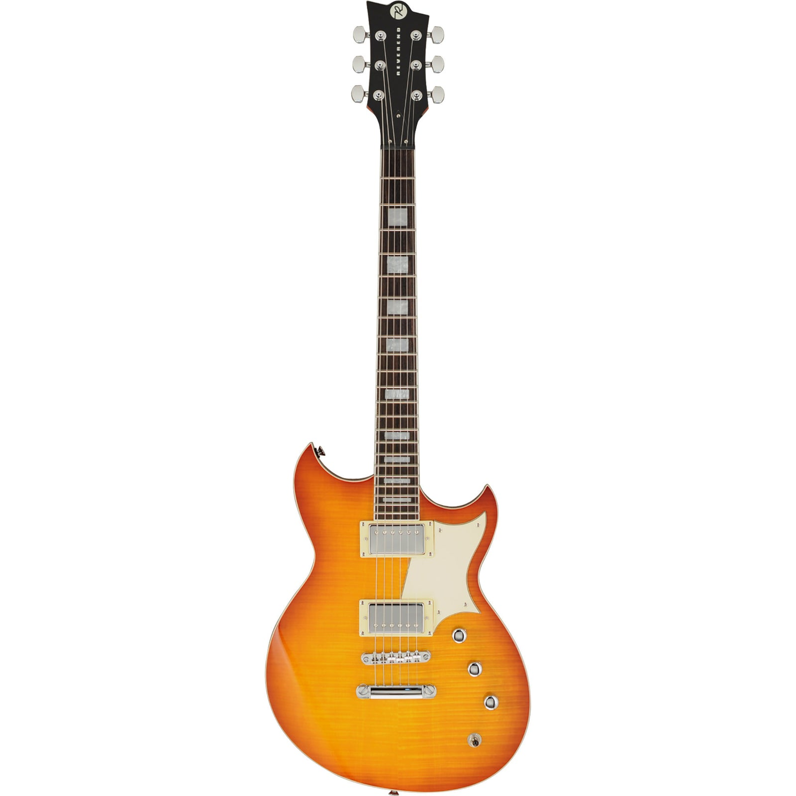 Reverend Sensei HB Flame Maple - Faded Burst