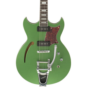 Reverend Tricky Gomez 290 Electric Guitar - Satin Emerald Green