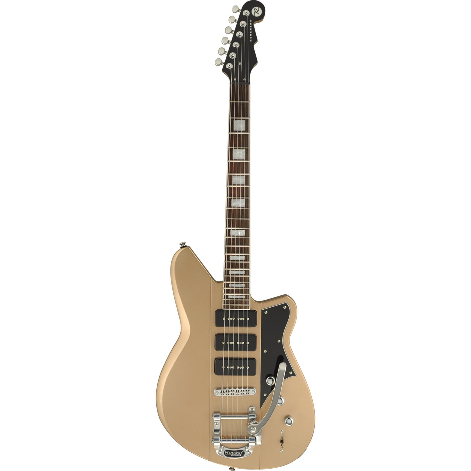 Reverend Warhawk 390 Electric Guitar - Lakeshore Gold