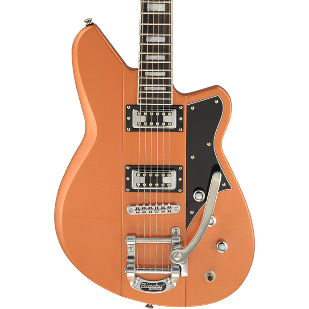 Reverend Warhawk RT Electric Guitar - Metallic Copper Fire
