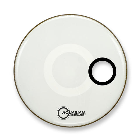 "Remo 26"" Clear Pinstripe Bass Drum Head"