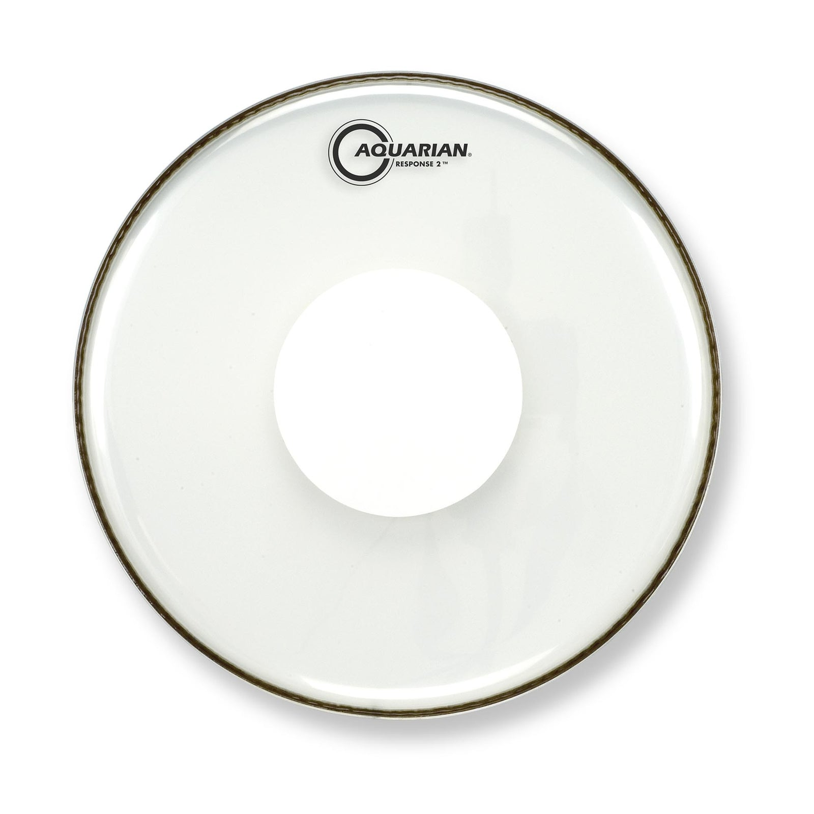 "Aquarian 16"" Response 2 Clear With Power Dot"