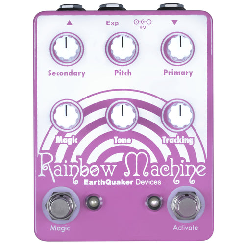 Earthquaker Rainbow Machine Pitch Shifter