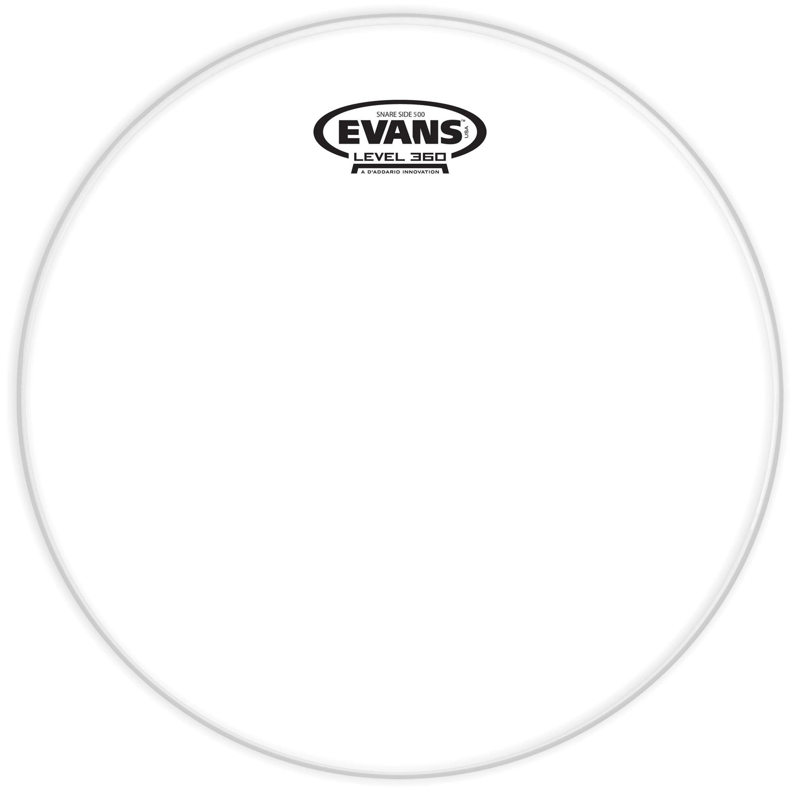 "Evans 13"" Clear 500 Snare Side Head"