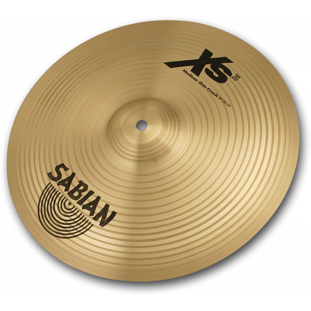 "Sabian 16"" Xs20 Medium Thin Crash Brillant"