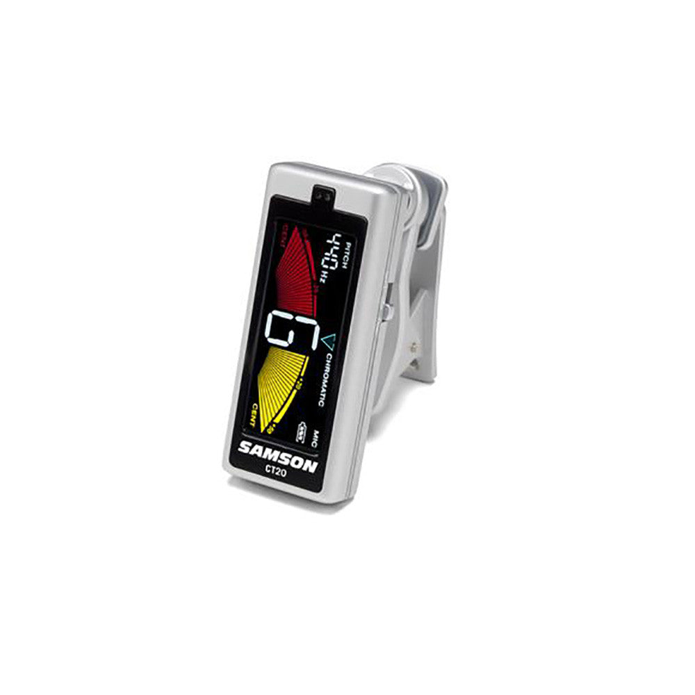 Samson CT20 Full Color Clip-On Chromatic Tuner