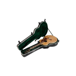 SKB Universal Jumbo Acoustic Shaped Hardshell - TSA Latch - Over-Molded Handle