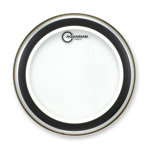 "Aquarian 12"" Studio X Clear Drum Head"