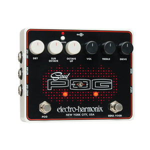 Electro Harmonix Soul Pog Transparent Overdrive And Polyphonic Octave Generator