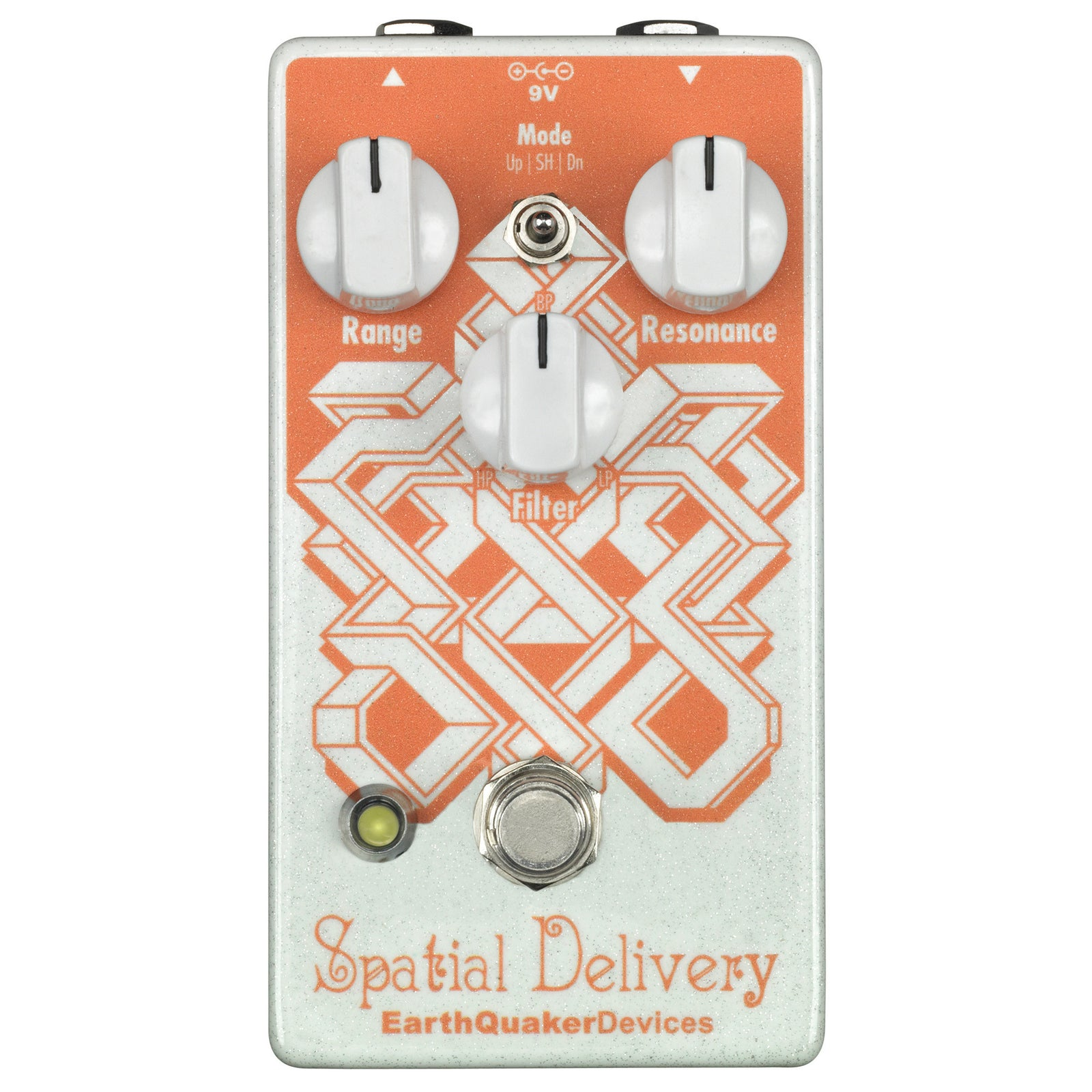 Earthquaker Spatial Delivery Envelope Filter