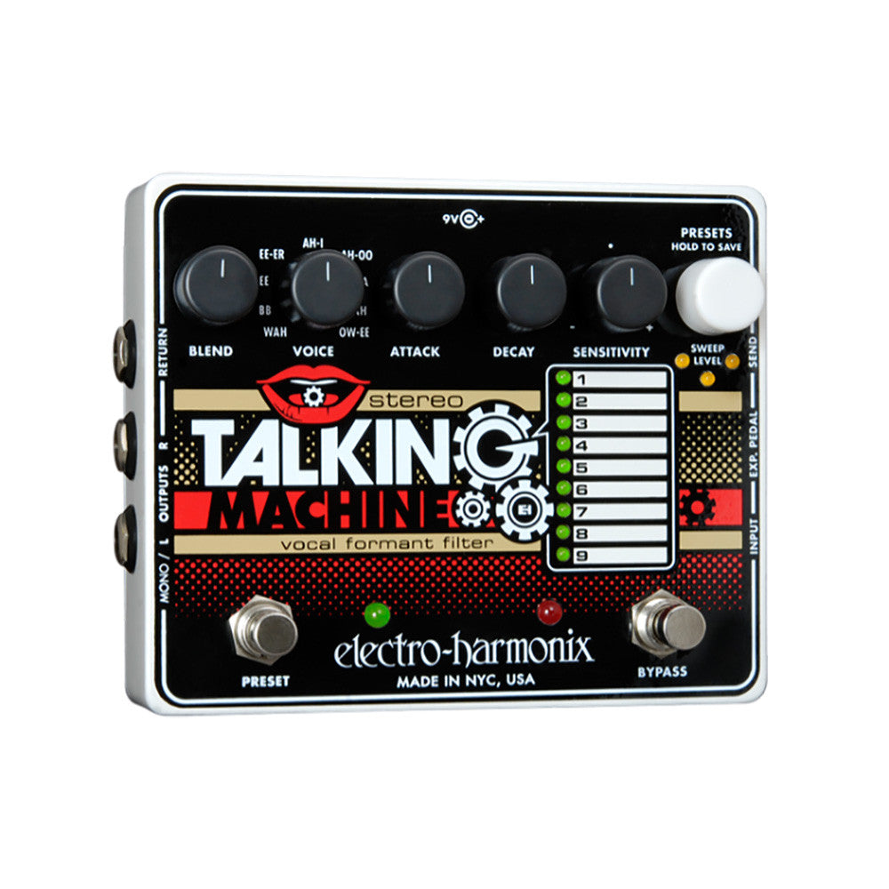 Electro Harmonix Stereo Talking Machine-Vocal Formant Filter