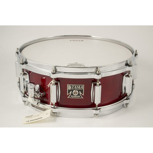 "Tama Demo 5X14"" Superstar Reissue Birch Snare, Cherry Wine"