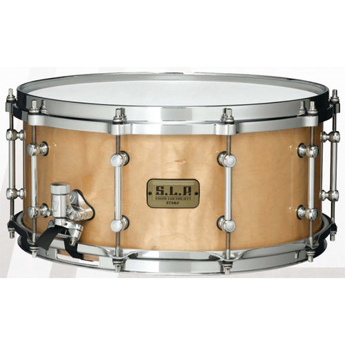 "Tama 6.5X14"" Limited Edition S.L.P. Snare, Figured Natural Birch"