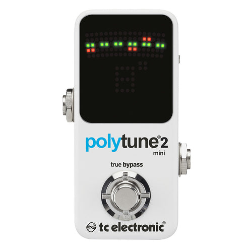 Tc Electronic Polytune 2 Mini Chromatic Pedal Tuner