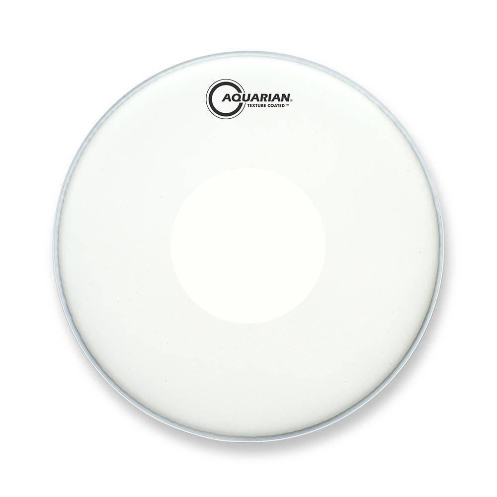 "Aquarian 14"" Texture Coated Drum Head With Dot"