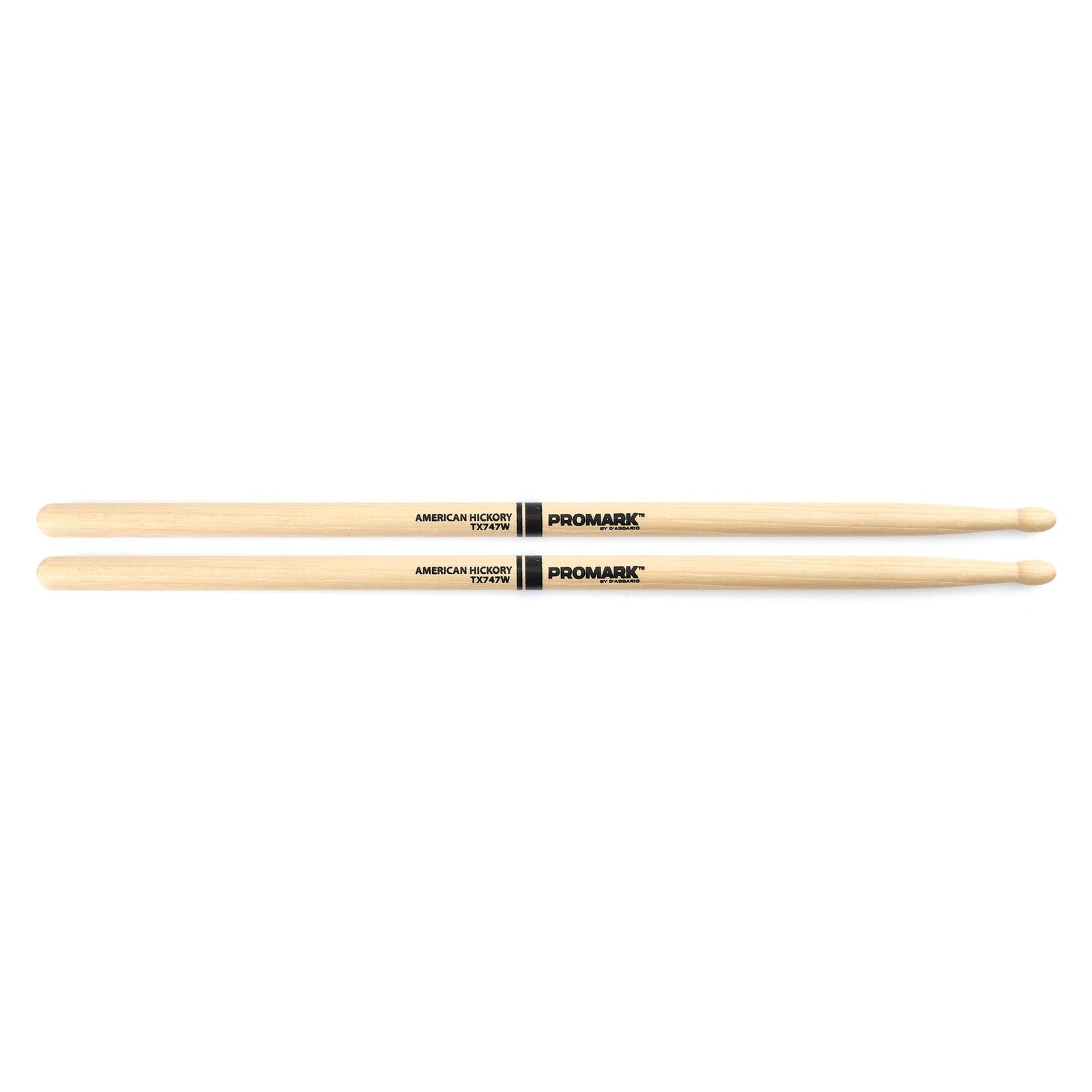 Promark TX747W Rock Wood Tip Drumsticks