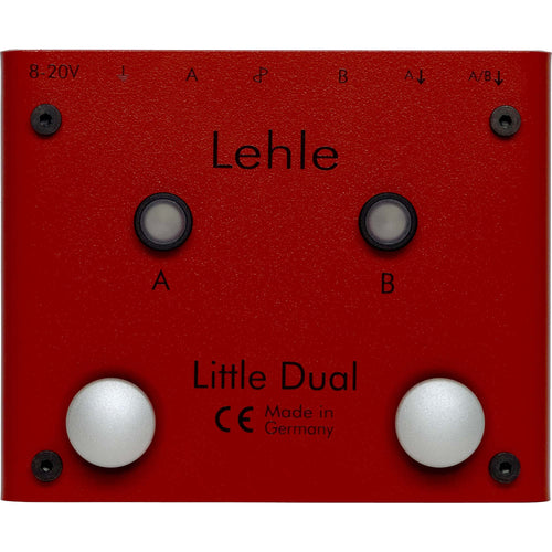 Lehle Little Dual Amp Switcher With Lthz Transformer