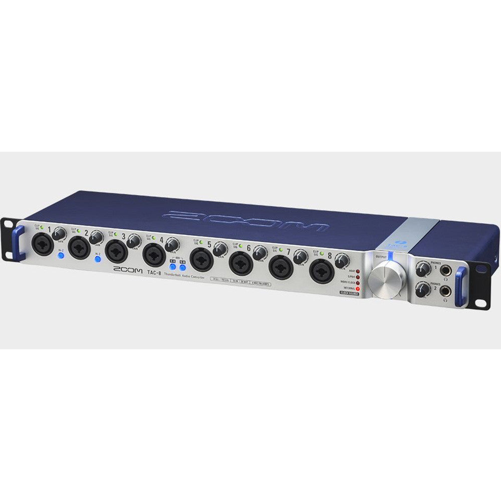 Zoom TAC-8 Thunderbolt Audio Interface With Mixefx Software