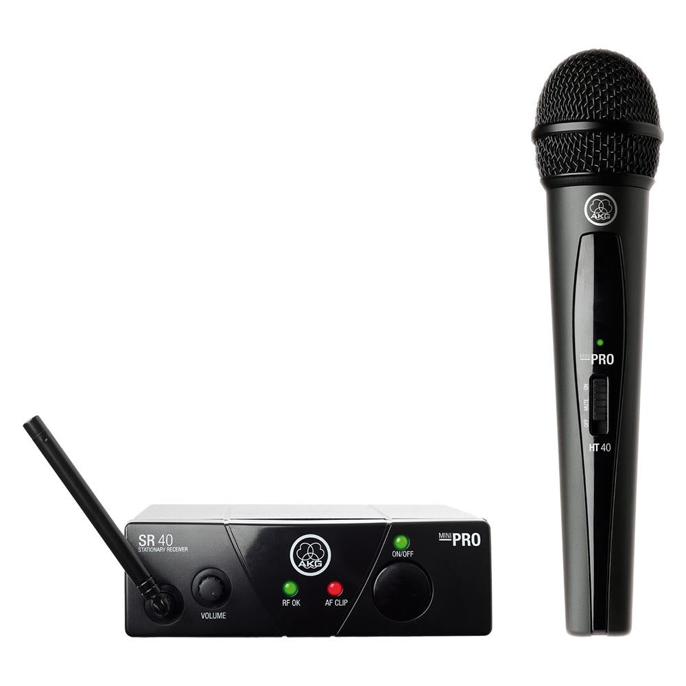AKG WMS 40 Mini Vocal Wireless System - Band A