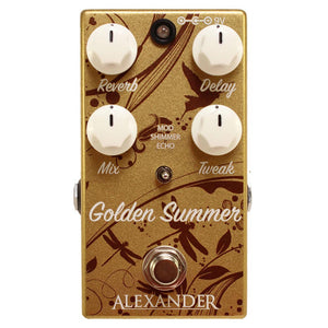 Alexander Golden Summer Reverb/Delay Pedal