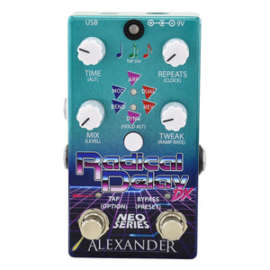 Alexander Radical Delay DX Neo Series