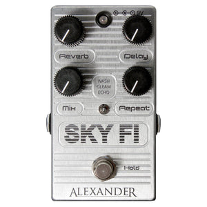 Alexander Sky Fi Delay And Reverb Pedal