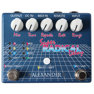 Alexander Super Radical Delay Pedal