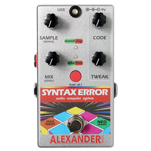 Alexander Syntax Error - Programmable Digital Glitch Ensemble