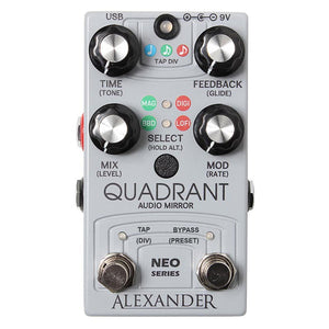 Alexander The Quadrant Audio Mirror Delay
