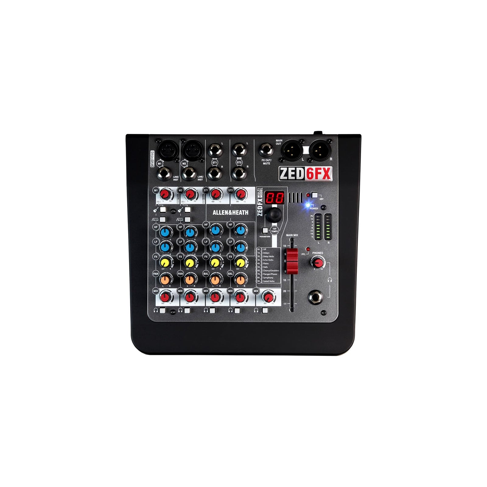 Allen&Heath Compact 6-Input Analog Mixer With FX
