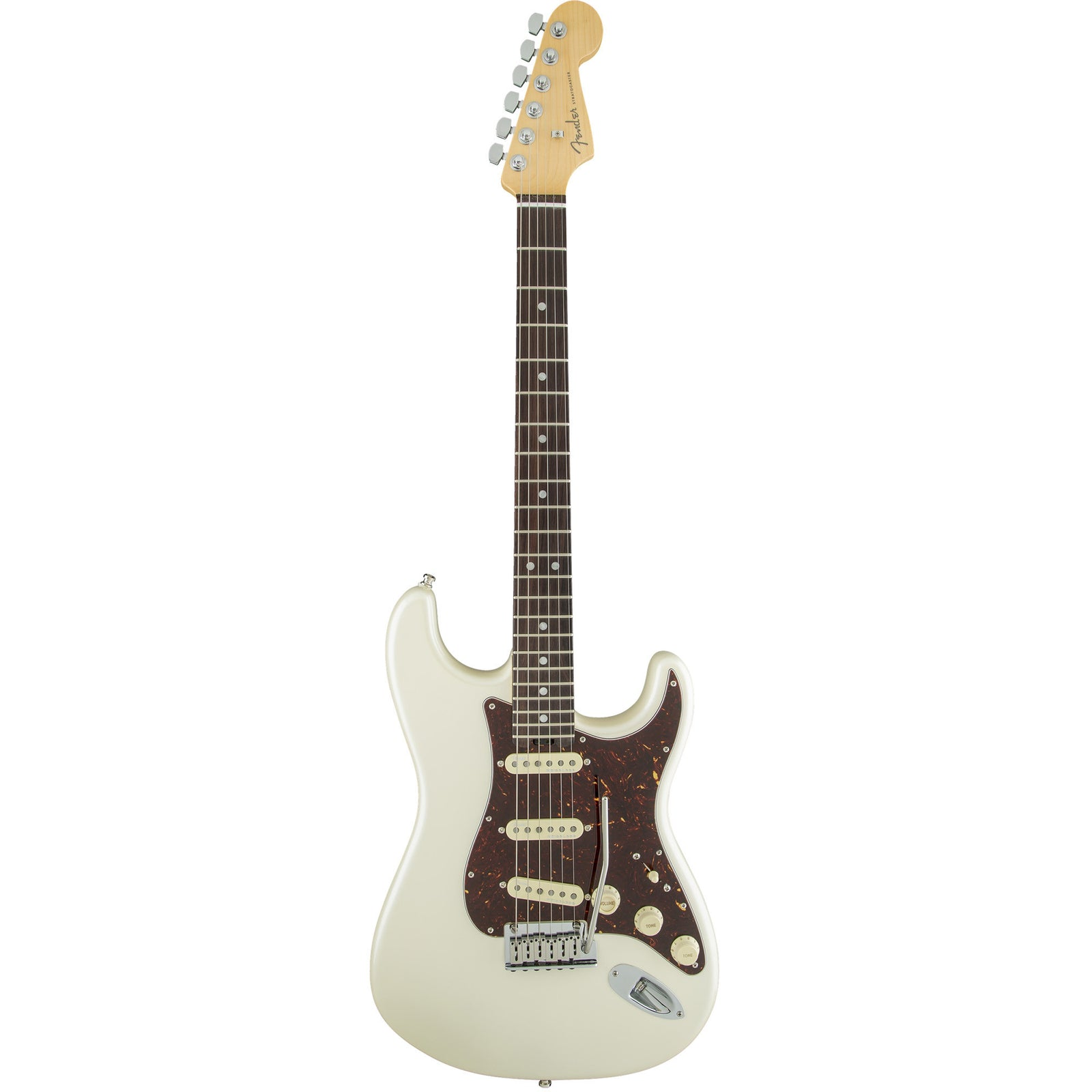 Fender American Elite Stratocaster - Rosewood Fingerboard - Olympic Pearl