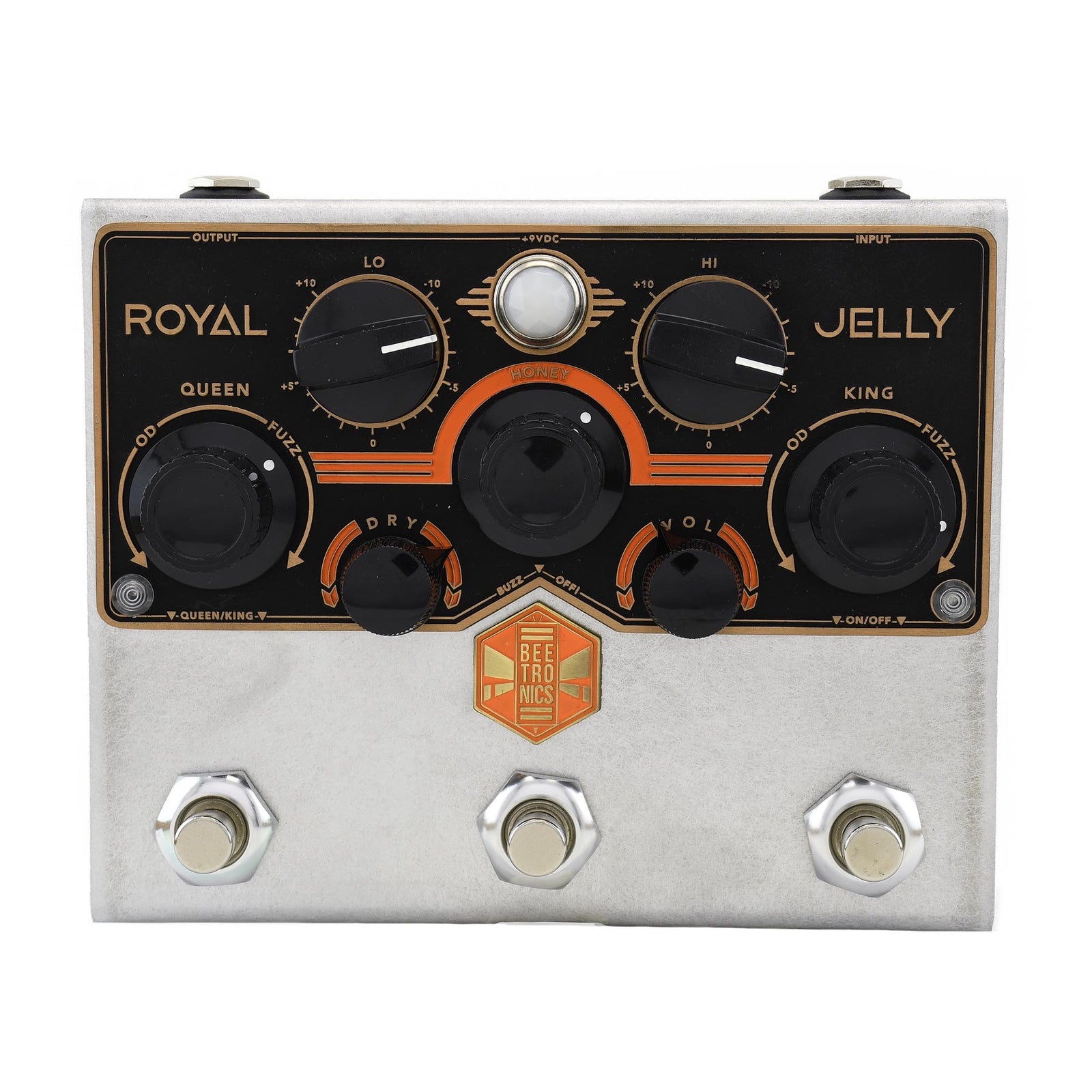Beetronics Royal Jelly Overdrive / Fuzz Blender