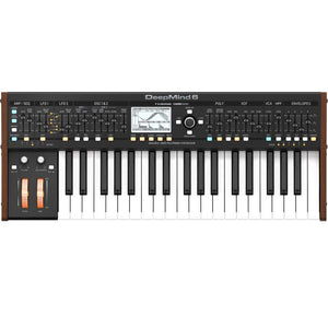 Behringer DEEPMIND 6 True Analog 6 Voice Polyphonic Synthesizer