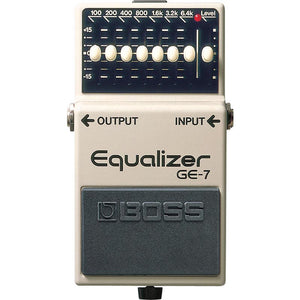 Boss Graphic Equalizer Pedal