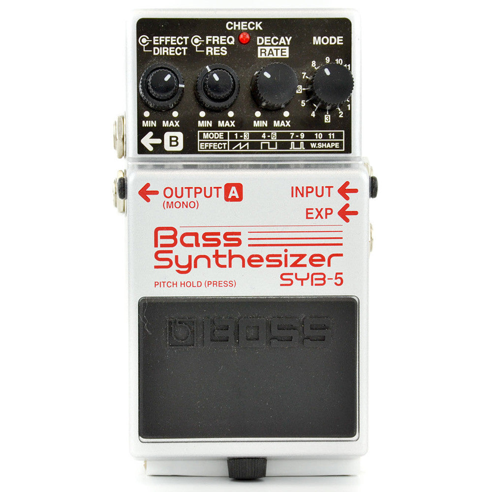 Boss SYB-5 Bass Syntheizer Pedal