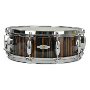 "C&C  5x14"" Exotic Snare - Ebony Macassar Finish - 7-Ply Maple"