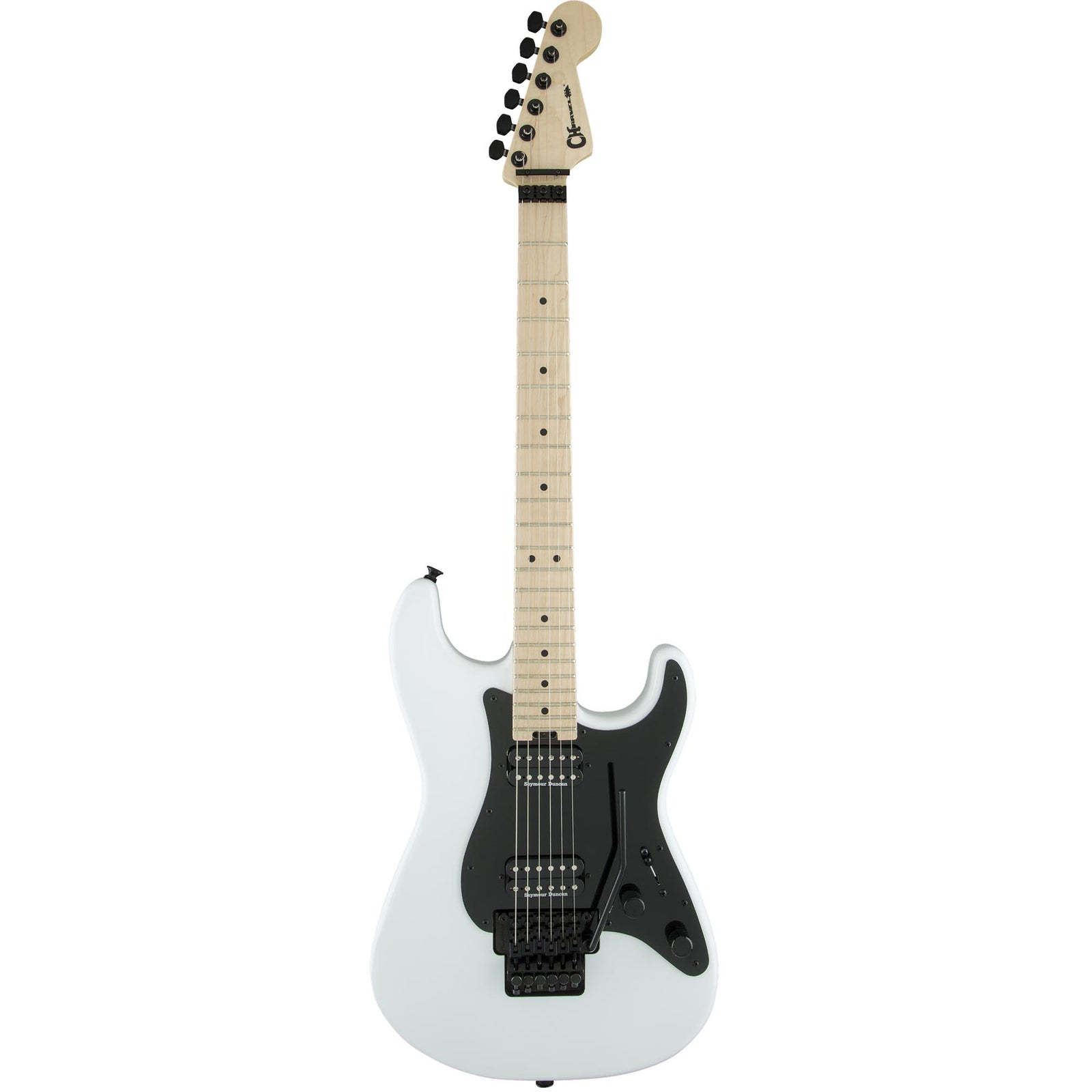 Charvel Pro Mod So Cal - Snow White - 2 Humbuckers - Floyd Rose - Image: 2