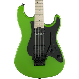 Charvel Pro Mod So-Cal Style 1 HH - Maple - Slime Green