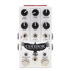 Chase Bliss Condor Analog Pre - EQ - Filter Pedal