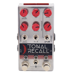 Chase Bliss Tonal Recall Red Knob Mod Analog Delay
