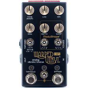 Chase Bliss Warped Vinyl HIFI Analog Vibrato - Chorus