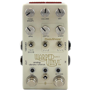 Chase Bliss Warped Vinyl MK2 Analog Vibrato / Chorus