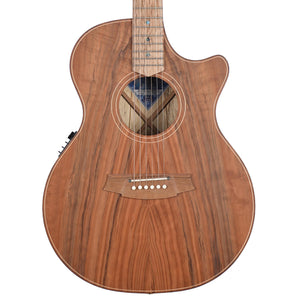 Cole Clark Angel 2 EC Redwood Face European Maple Back And Sides With Cutaway