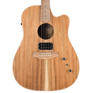 Cole Clark Fat Lady 2 Dreadnought Blackwood With Humbucker