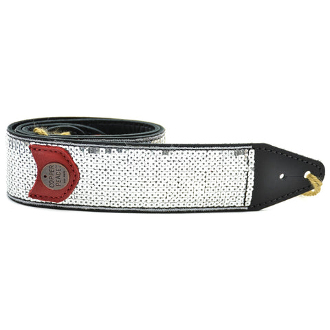"Souldier 1"" Vargas Strap, Yellow Diamonds On White W/ Blue And Red Accents"