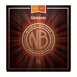 Daddario - 10-47 Nickel Bronze Acoustic Set - Extra Light