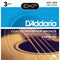 Daddario EXP16 Coated Phosphor Bronze Acoustic Guitar Strings - Light - 12-53 - 3 Sets