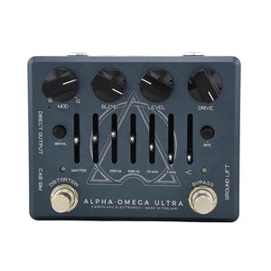 Darkglass Alpha Omega Ultra Dual Bass Preamp/Overdrive Pedal