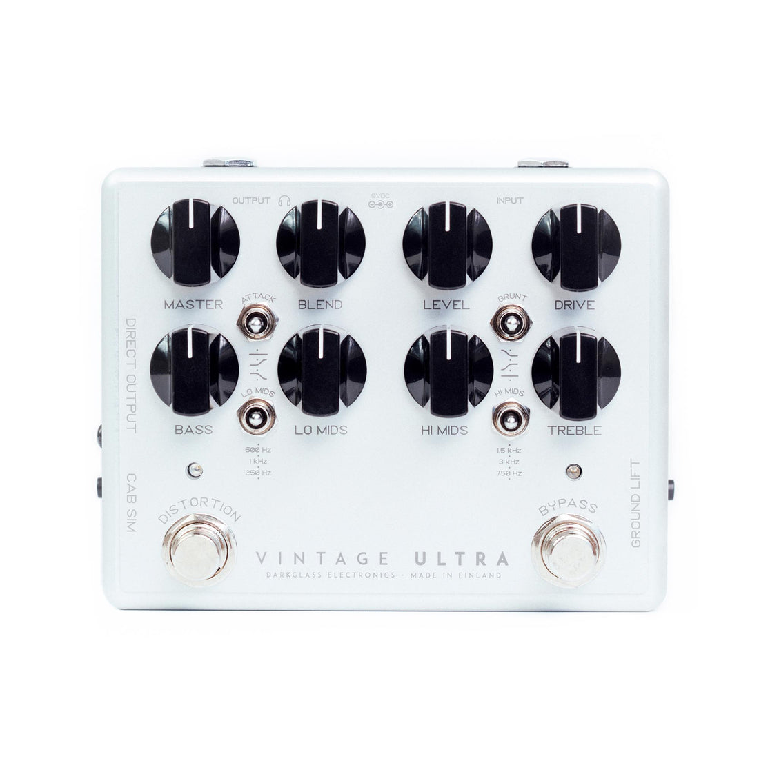Darkglass Vintage Ultra 2.0 Bass Preamp Pedal
