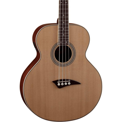 Fender CB-100CE Acoustic/Electric Bass - Natural
